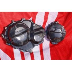 Carbon-Motorschützer/Satz, für CBR600RR/PC40 Bj.2007-2008